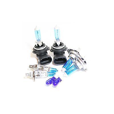 Ford Galaxy MK2 H1 H7 501 100w Clear Xenon HID High//Low//Side Headlight Bulbs Set