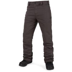 2018-NWT-MENS-VOLCOM-KLOCKER-tight-SNOW-PANTS-vintage-black-tight-fit
