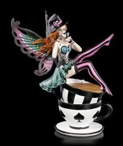 Elfen Figur - Wonderland Fairy Hatter - Nemesis Now Fee Elfe Dekostatue