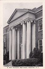 STATESVILLE , North Carolina , 1940 ; D. Matt Thompson High School, version 2