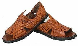 1763fba8b5975 Men s New Leather Soft Woven Handmade Sandals Flip Flop Slip ...