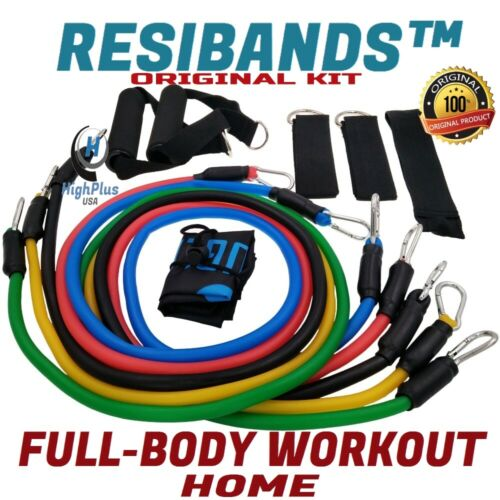 ORIGINAL KIT 40/%OFF Resibands™ 11pc Resistance Band Set