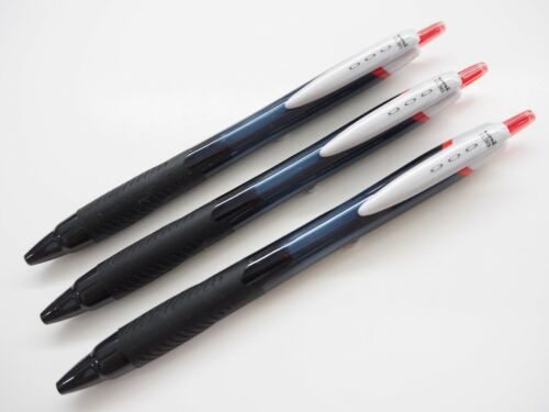 6 Black pens Uni-Ball JetStream SXN-150 0.38mm Ultra Fine Retractable Ballpoint