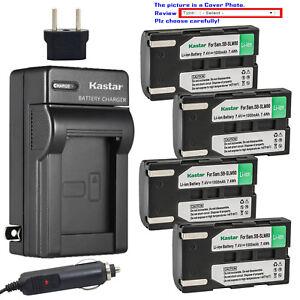 42cacad34d6e Kastar Battery Travel Charger for Samsung SB-LSM80 LSM80 SB-LSM160 ...