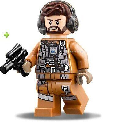 LEGO STAR WARS NEW RESISTANCE SPEEDER NODIN CHAVDRI FIGURE 75196-2019