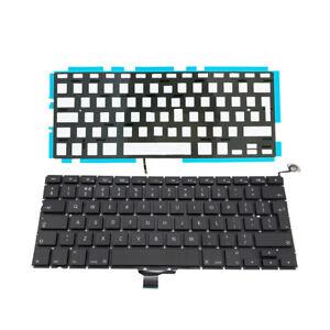 "Backlit Laptop UK Qwerty Keyboard for Apple MacBook Pro 13/"" A1278 2009-2012"