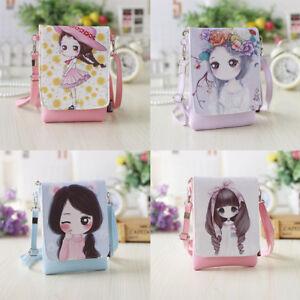 Women-Girl-Shoulder-Bags-Handbags-Cartoon-Crossbody-PU-Leather-Mini-Bags-4-Color