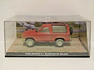 007 Ford Bronco Ii Quantum Of Solace 1/43 James Bond Collection-afficher Le Titre D'origine