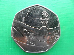 GB 2016  RIO OLYMPICS TEAM GB  Commemorative 50p coin - <span itemprop='availableAtOrFrom'>Sheffield, South Yorkshire, United Kingdom</span> - GB 2016  RIO OLYMPICS TEAM GB  Commemorative 50p coin - Sheffield, South Yorkshire, United Kingdom