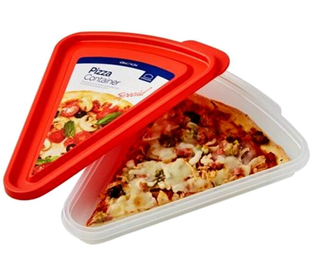 Lock /& Lock 1 ~ 5 Pizza Container Slice Snack Bread Storage HLE200