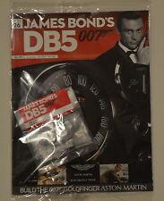 James Bond 007-ASTON MARTIN db5 - 1:8 SCALA Build-GOLDFINGER-auto parte 26