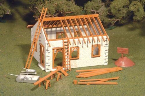 Bachmann Plasticville 45316 House Under Construction Kunststoff Modell O Gauge