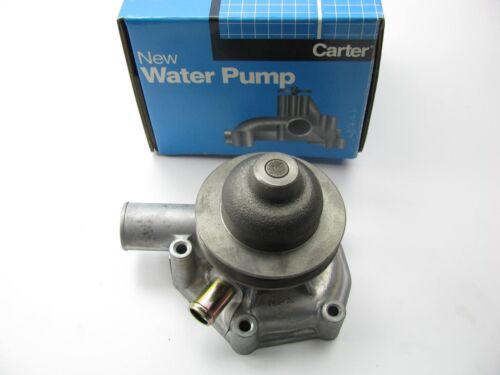 GL 1.8L H4 Carter FP1571 Water Pump For 1980-1984 Subaru Brat 80-89 DL