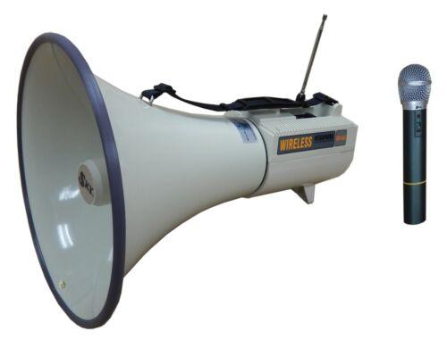 45W Megaphone and Wireless Microphone