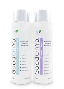 Moisturizing Shampoo and Conditioner Set with Biotin and Manuka Honey - Bioti...