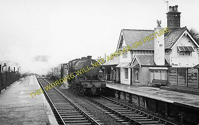 Clapham Railway Station Photo Giggleswick to Bentham and Ingleton Lines. 7