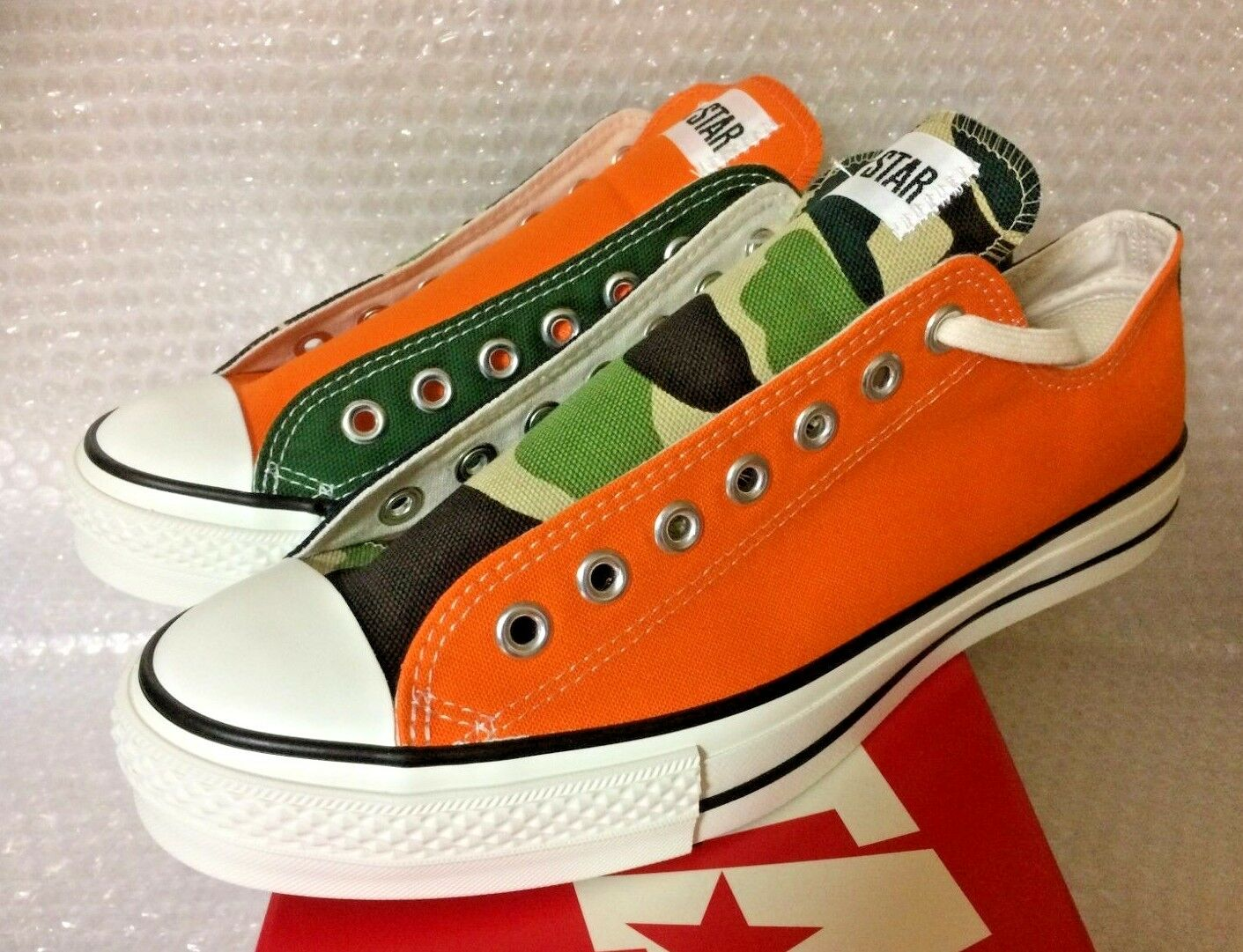 CONVERSE ALL STAR J x BILLY'S ENT ALL STAR J RE-MIX OX   9.5 J 28 JAPAN import