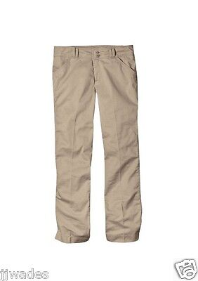 Dickies Size 19 Khaki Juniors Stretch Wide Band School Work Uniform Pants *NEW*