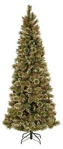 Tall Slim Christmas Tree.Details About National Tree Weston Fir Artificial Slim Christmas Tree 7 6 Tall 45 Wide