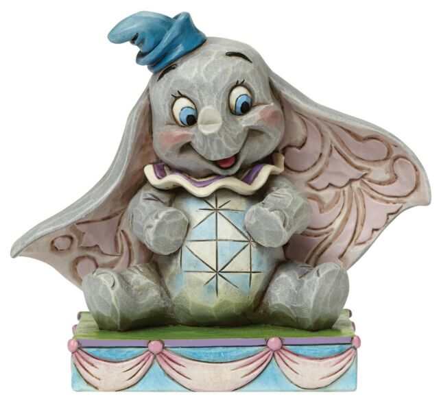 Disney Traditions Jim Shore Baby Mine Dumbo Figurine Ornament 8cm 4045248