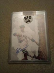 Bobby Doerr autographed 1994 Ted Williams  Baseball Card HOF bv $25