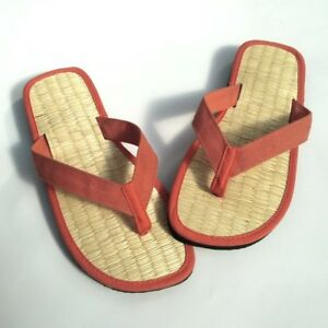 new style 1d0cc 546a7 Details zu Zimtlatschen orange Zehentrenner Größe 35 bis 44 Zimtsandalen  für Frau und Mann