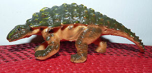 Real-Nice-Vintage-PVC-Toy-Ankylosaurus-China-w-Missing-Paint