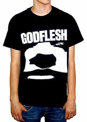 """Godflesh """"Face"""" T-shirt - NEW OFFICIAL"""