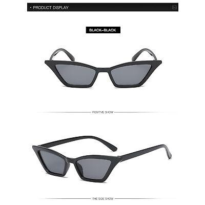 Vintage Cat Eye Sunglasses Women Small Frame Fashion Shades UV400 Glasses