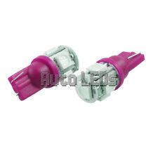 1 Rosa Cuña de 5 X 5050 LED T10 12v Bombilla Led Interior