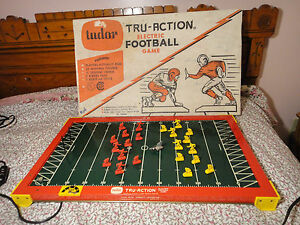 Image Is Loading Vintage Tudor Tru Action Electric Football Game W