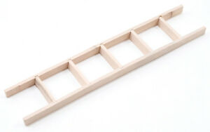 Dollhouse-Miniature-Straight-Ladder-6-Inches-1-12-Scale
