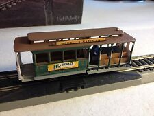 HO GAUGE BACHMANN 60542 POWERED SAN FRANCISCO CABLE CAR- IN BOX