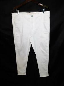 American Eagle Size 18 Hi Rise Jegging White Jeans Next Level Stretch X AEO 18R