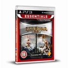 PlayStation 3 Ps3 Game God of War 1 & 2 Collection