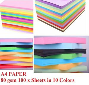 WHITE A4 PAPER 80gsm SHEETS ARTS AND CRAFTS SELECT AMOUNT