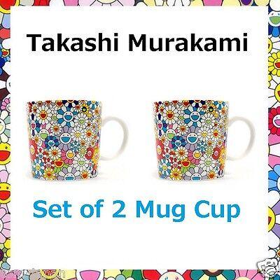 Japan Tokyo Limited TAKASHI MURAKAMI Mug Cup Multi Flower