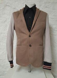 Details zu Mens Zara Jacket Denim Couture 219