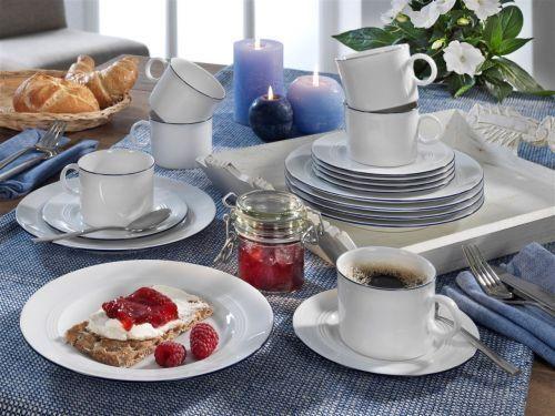 Vaisselle Jeverland PORCELAINE PETITE BRISE service à café ou service de table