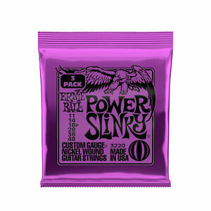 Ernie-Ball-Power-Slinky-Nickel-Wound-Cordes-pour-guitare-electrique-3-Pack-11-48-Gauge