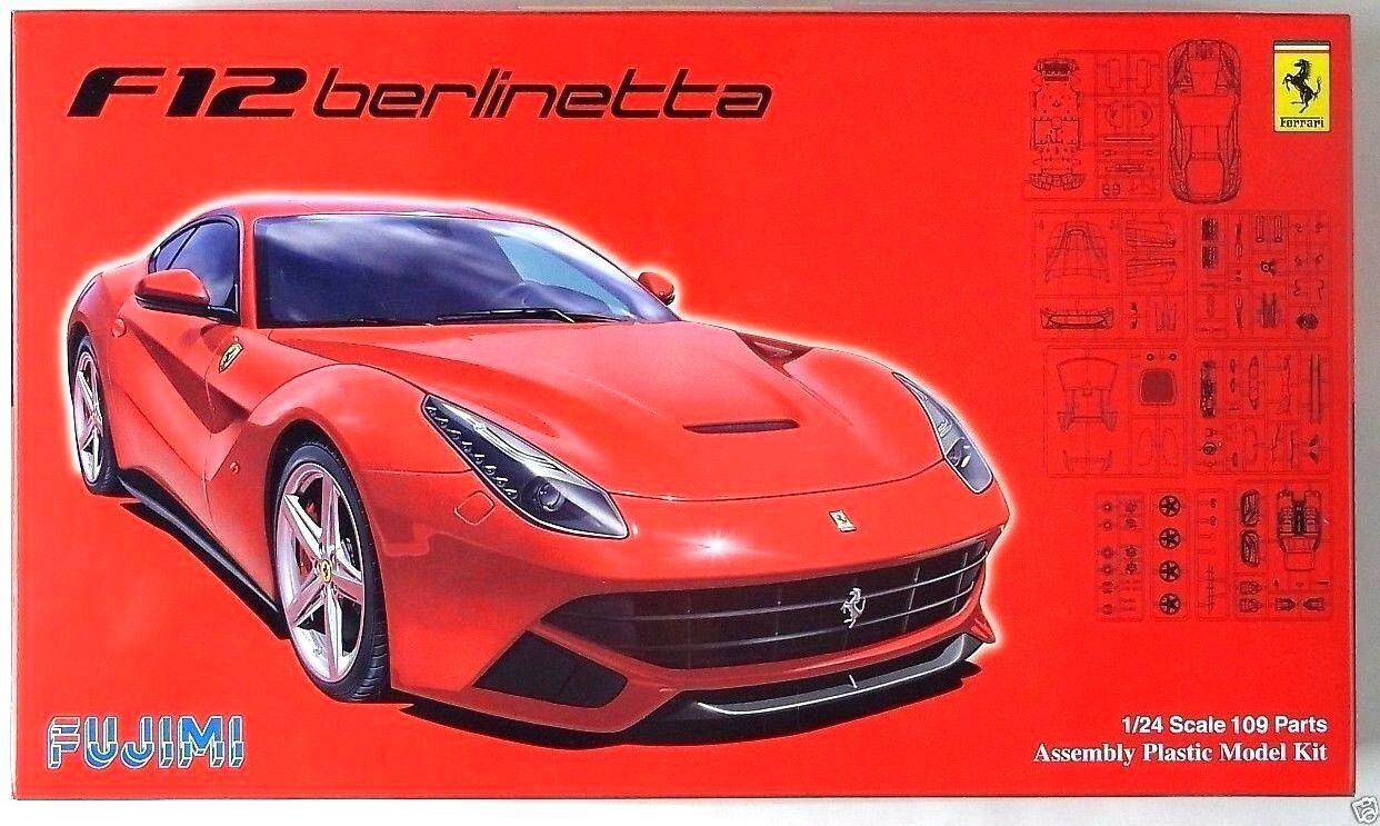 FUJIMI 1 24 Ferrari F12 Berlinetta w  photo-etched parts RS-54 scale model kit