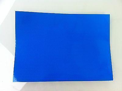 Bande Adhesive Reflechissante Feuille A4 Bleu Haute Visbilite