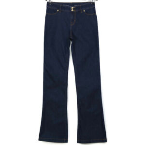 The-Limited-Womens-High-Waist-Flare-Jeans-Size-2L-2-x-34-Long-Tall-Dark-Stretch