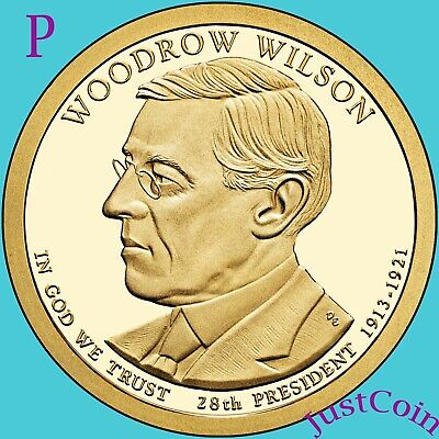 2013-P President  Wilson   Dollar.