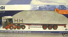CORGI 1/50 SCANIA R CABINA PIATTI Rimorchio / mattoni Ian Craig haulage ora delle cc13748