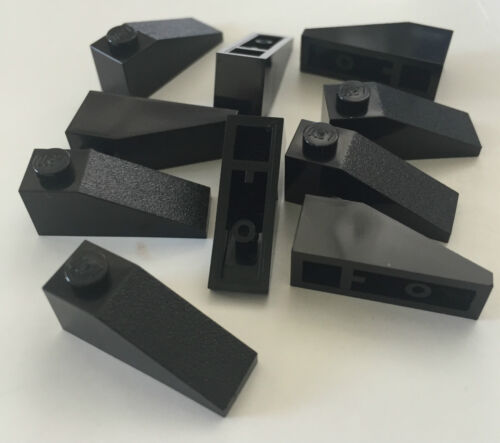 *NEW* 25 Pieces Lego BLACK Slope 33 3x1 4286