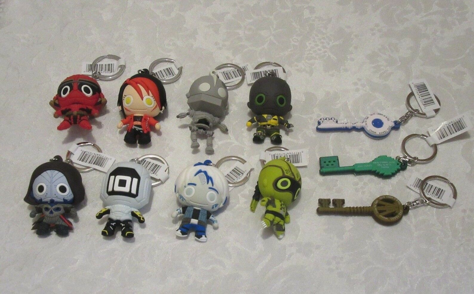 Monogram Figural Ready Player One Lot of 11 A Complete Set with Exclusives