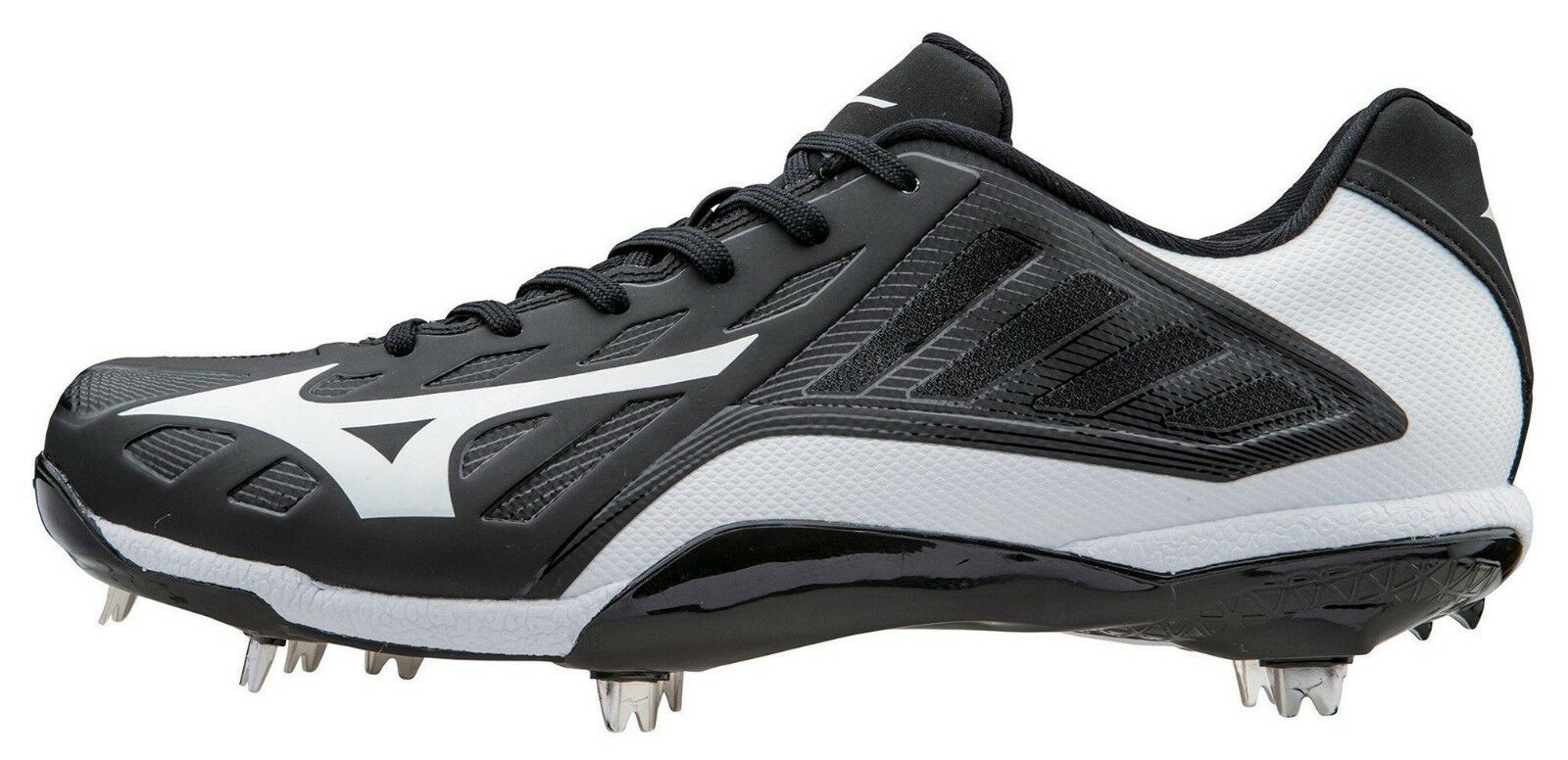 NEW  MEN'S MIZUNO HEIST IQ LOW CLEATS size 10.5