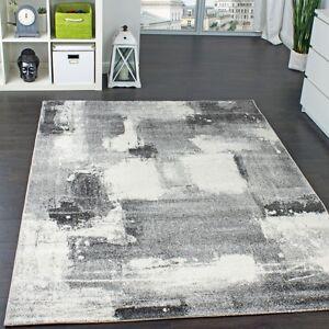 Teppich modern grau  Teppich Velours Kurzflor - Winchester - Designer-Teppich Modern ...