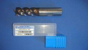 VHM-Schlichtfräser 16mm 20mm 25mm VHM Fräser Schaftfräser